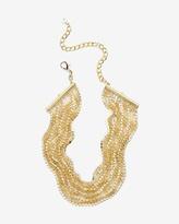 White House Black Market Rhinestone Choker Necklace