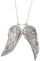 House Of Harlow Double Embellished Angel Wing Chain Necklace