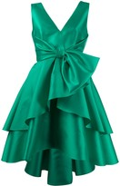 Alberta Ferretti sleeveless ruffled dress