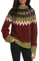 M Missoni Women's Wool Blend Zigzag Sweater