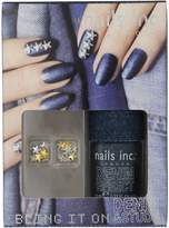 Nails Inc Bling it on Denim and Studs Collection by