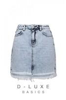DECJUBA Luxe Mullet Hem Skirt