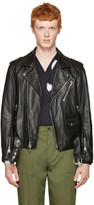 3.1 Phillip Lim Black Leather Biker Jacket