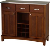 Home Styles Large Buffet - Stainless Steel Top