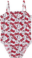 Hello Kitty Girls' Classic Bow One Piece (2T4T) - 8129647