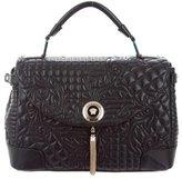 Versace Altea Quilted Barocco Vanitas Bag