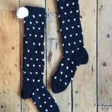 Lowie Wool Blend Spotty Socks