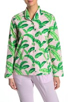 Sant And Abel Tropical Front Button Pajama Shirt