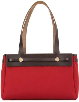 Hermes Pre-Owned 2004 Her Bag Cabas PM 2 in 1 shoulder tote bag