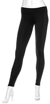 LnA Matte Zipper Leggings: Black