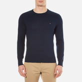 Tommy Hilfiger Men's Prime Cotton Crew Neck Knitted Jumper