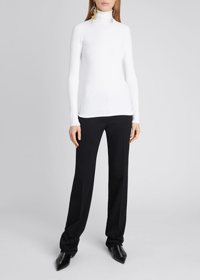 Stella McCartney Compact Knit Turtleneck Sweater