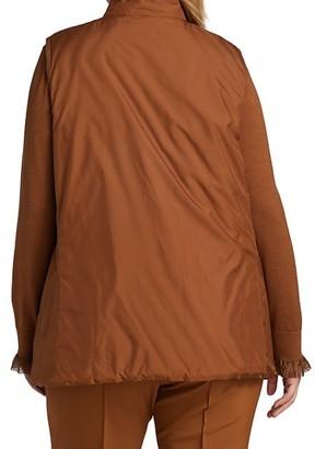Lafayette 148 New York, Plus Size Reversible Bellamy Vest