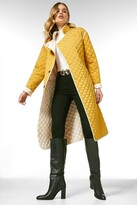 Thumbnail for your product : Karen Millen Reversible Quilted Trench Coat