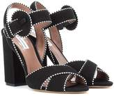 Tabitha Simmons Andres suede sandals