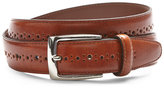 Bosca Perforated Leather Belt