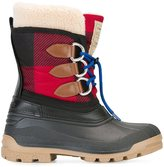 DSQUARED2 tartan effect duck boots