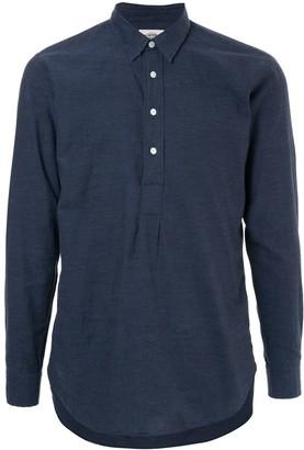 Kent & Curwen Half Buttoned Shirt