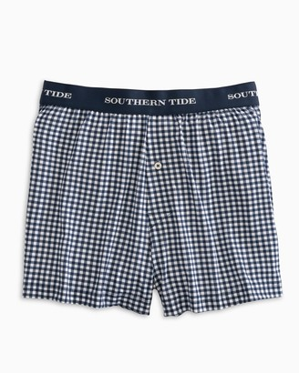 Southern Tide Gingham Performance Boxer