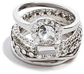 GUESS Grace Cubic Zirconia Ring Set