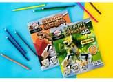 Art 101 Pukka Fun 4D Interactive Coloring Book - Dinosaurs/Baby Animals