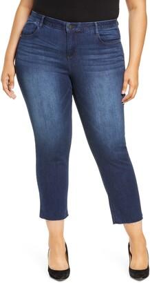 Wit & Wisdom Ab-Solution Girlfriend Raw Hem Ankle Skinny Jeans