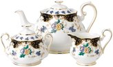 Royal Albert 100 Years 1910 Teapot Sugar & Creamer Set - Dutches