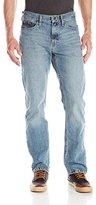 Nautica Jeans Men's Straight Light Cross Hatch Jean
