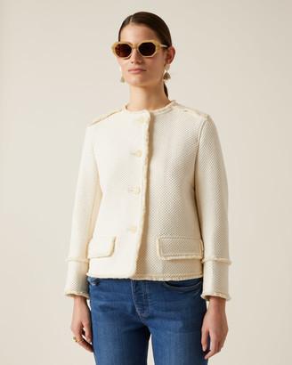 Jigsaw Basket Tweed Jacket