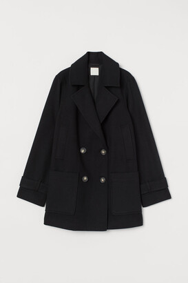 H&M Short Coat - Black
