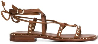Ash Princess faux-leather studded sandals