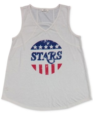 Style&Co. Style & Co Graphic Print Tank Top, Created for Macy's