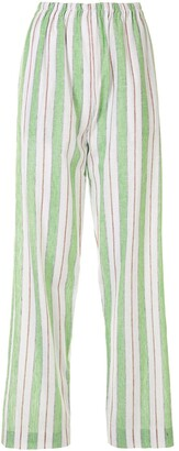 Bambah Striped Straight-Leg Trousers