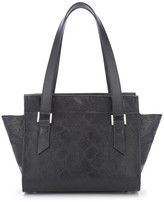 AUGUST Handbags - The Hakone - Black Lizard