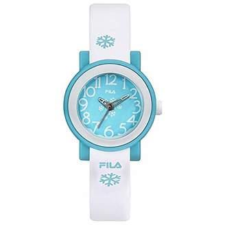 Fila Unisex Adult Analogue Quartz Watch with Plastic Strap FILA38-202-019