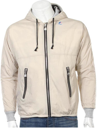 K-Way Beige Synthetic Jackets