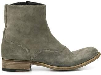 Premiata worn-effect boots