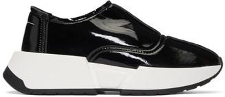 MM6 MAISON MARGIELA Black Chunky Slip-On Sneakers