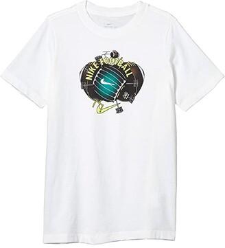 Nike Kids NSW Football Field Tee (Little Kids/Big Kids) (Black) Boy's T Shirt