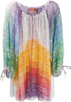 Missoni Mare Colour-Block Mini Cover-Up