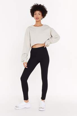 Nasty Gal Womens MS Seam Front Crepe Slinky Trousers - black - 6