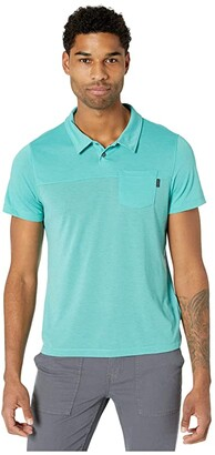 Prana Milo Polo (Azurite) Men's Clothing