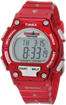 Timex Women's T5K5579J Sport Ironman Cherry Full Size Shock 30 Lap Watch