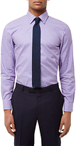 Jaeger Bold Gingham Slim Fit Shirt, Blue/pink