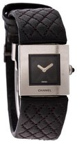 Chanel Matelasse Watch