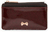 Ted Baker Glitter Patent Leather Coin Purse