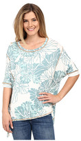 Miraclebody Jeans Twila Seamed Tee w/ Body-Shaping Inner Shell