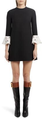 Valentino Bell Sleeve Minidress
