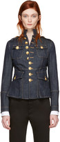 DSQUARED2 Blue Denim Livery Jacket