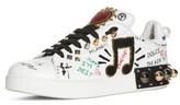 Dolce & Gabbana Women's Mixed Media Sneaker